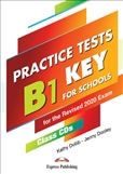 Practice Tests B1 Preliminary For Schools Class CD