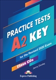 A2 Key Practice Tests Class Audio CD (5) for Revised 2020 Exam