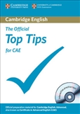 Official Top Tips for CAE (with Interactive CD-Rom)