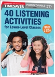 Timesaver 40 Listening Activities for Lower Level Classes Book with CD