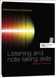 Academic Objectives Listening and note-taking Skills...