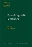 Cross-Linguistic Semantics Hardbound