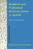 Academic and Professional Discourse Genres in Spanish Hardbound