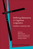 Defining Metonymy in Cognitive Linguistics Towards a...