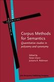Corpus Methods for Semantics Quantitative Studies in...