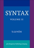 Syntax Voilume II: An Introduction Hardbound
