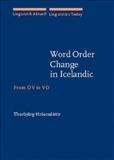 Word Order Change in Icelandic from OV to VO Hardbound
