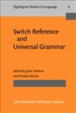 Switch Reference and Universal Grammar Hardbound