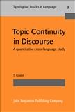 Topic Continuity in Discourse Hardbound