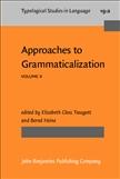 Approaches to Grammaticalization Volume 2 Hardbound
