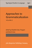 Approaches to Grammaticalization Volume 2 Paperback