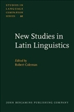 New Studies in Latin Linguistics Proceedings of the 4th...