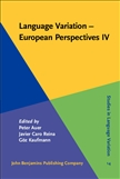 Language Variation - European Perspectives IV Hardbound
