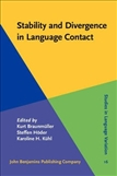 Stability and Divergence in Language Contact Factors...