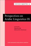 Perspectives on Arabic Linguistics IX