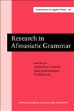 Research in Afroasiatic Grammar