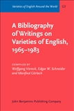 A Bibliography of Writings on Varieties of English, 1965?1983