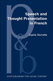 Speech and Thought Presentation in French Concepts and...