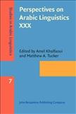 Perspectives on Arabic Linguistics XXX