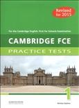 Cambridge FCE 1 Practice Tests Self Study
